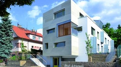 Energeticky pasívna bytová vila Pod Altánem v Prahe – Strašniciach 1