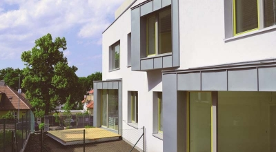 Energeticky pasívna bytová vila Pod Altánem v Prahe – Strašniciach 3