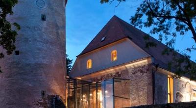 Záchrana gotického hradu v Soběslavi - mestská knižnica 1