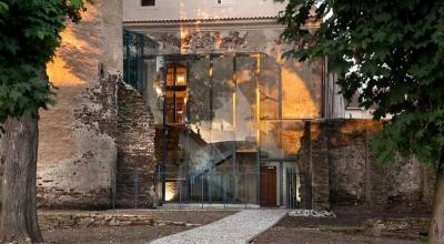 Záchrana gotického hradu v Soběslavi - mestská knižnica 2