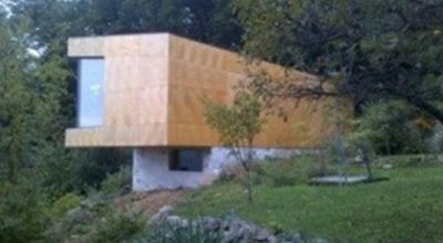 Nizkoenergeticka horska chata v Borinke