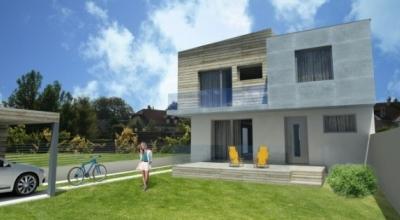 Nizkoenergeticky rodinny dom v Bratislave