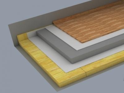 Isover izolace do podlahy