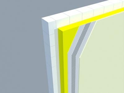 Zateplenie kontaktnej fasády minerálnou vlnou
