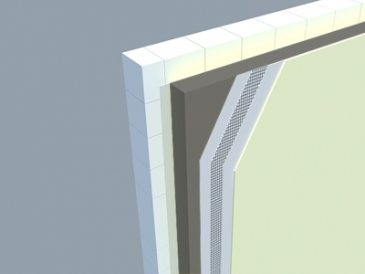 Zateplenie kontaktnej fasády polystyrénom