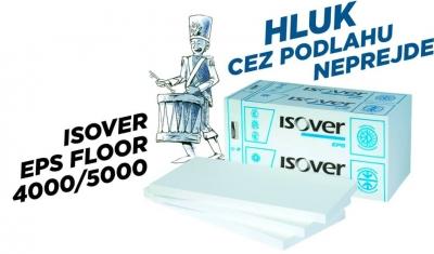 Izolacia EPS FLOOR 4000 hluk podlaha