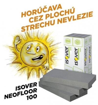 Izolacia EPS NEOFLOOR 100 horucava plocha strecha