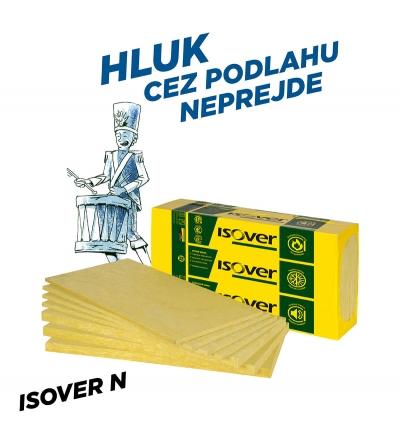 Izolacia ISOVER N hluk podlaha