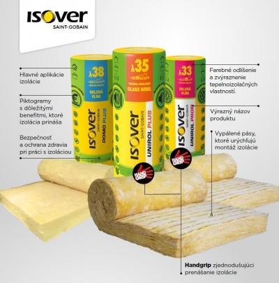 Top produkty ISOVER lepsie vlastnosti