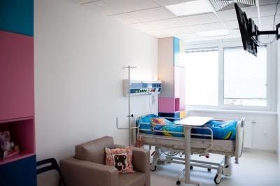 Onkologicka izba interier zrekonstruovana