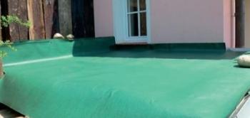 Dodatočná hydroizolácia zelenej strechy