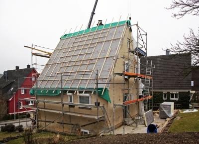 Dodatocne zateplenie sikmej strechy rodinneho domu
