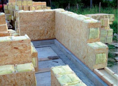 Konstrukcny system z modulov na baze OSB pre vystavbu drevodomov
