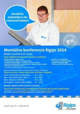 Montazne konferencie Rigips 2014