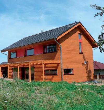 Nizkoenergeticka stavba z dreva Ceska republika