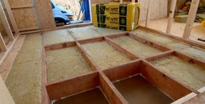 Izolácia podlahy postup
