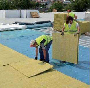 Postup vytvorenia ľahkej požiarne odolnej plochej strechy 11