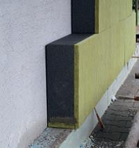 Poziarne oddelene tepelne izolacie sokla zakladacou doskou