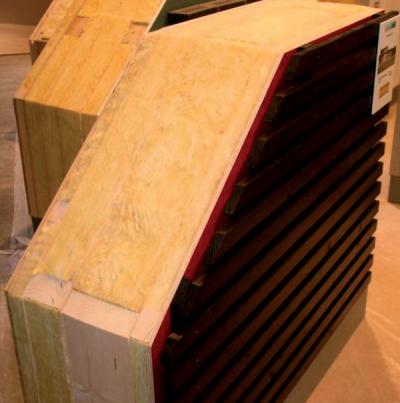 Príklad skladby steny na báze dreva s extrémnou tepelnou ochranou