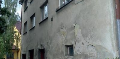 Príprava podkladu fasády domu