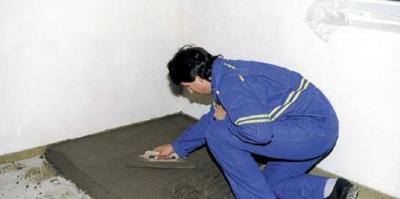 Vytvorenie betónového podkladu podlahy