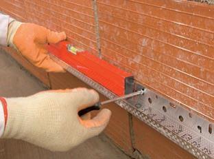 Založenie zateplenie vodiacou lištou