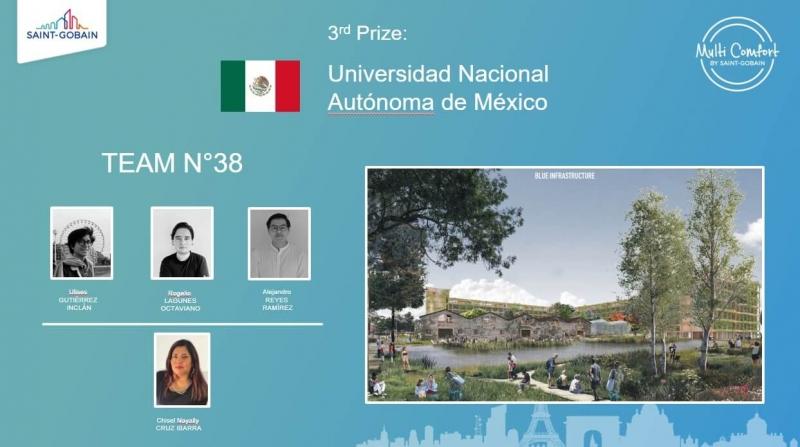 Multi-Comfort Students Contest 3 cena Mexiko