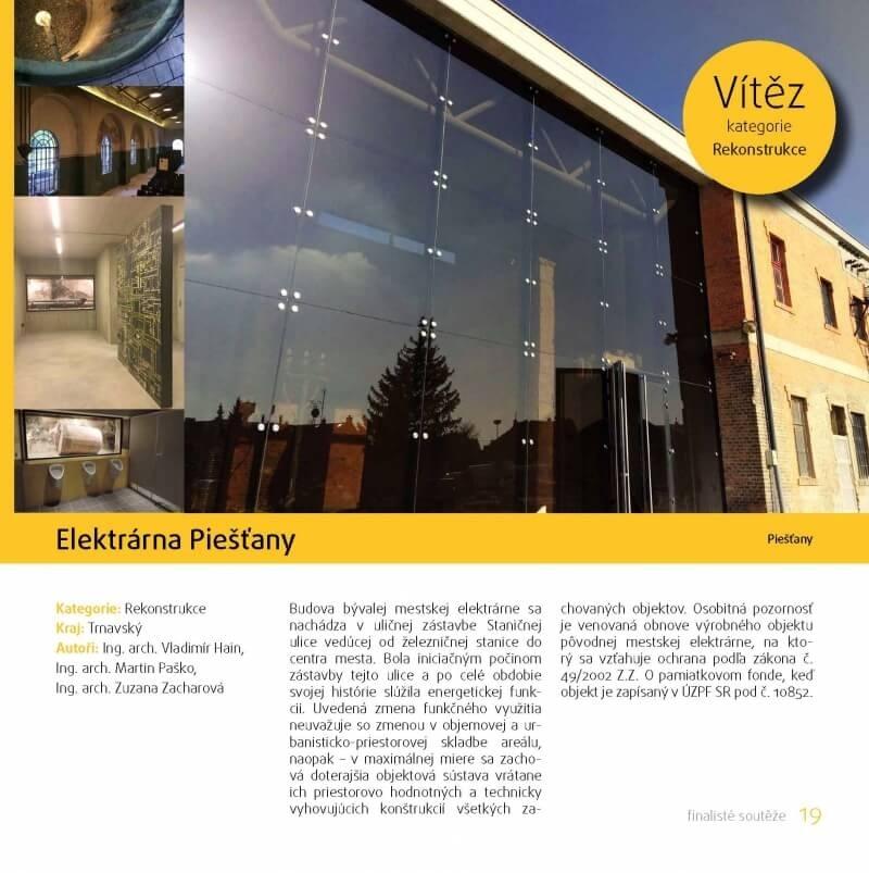 Sutaz Beffa 2014 - energeticky setrne stavby vitaz v kategorii rekonstrukcie