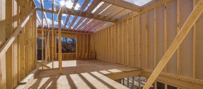 Vystavba nizkoenergetickych drevodomov, hruba stavba