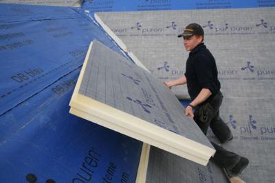 Nakrokvova izolacia sikmej strechy