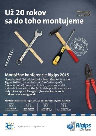 Montazne konferencie Rigips 20 rokov
