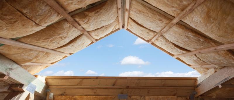 Zateplenie sikmej strechz sklenou vlnou
