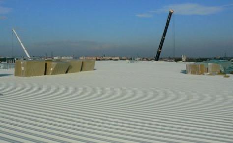 Nosna konstrukcia pre plochu strechu