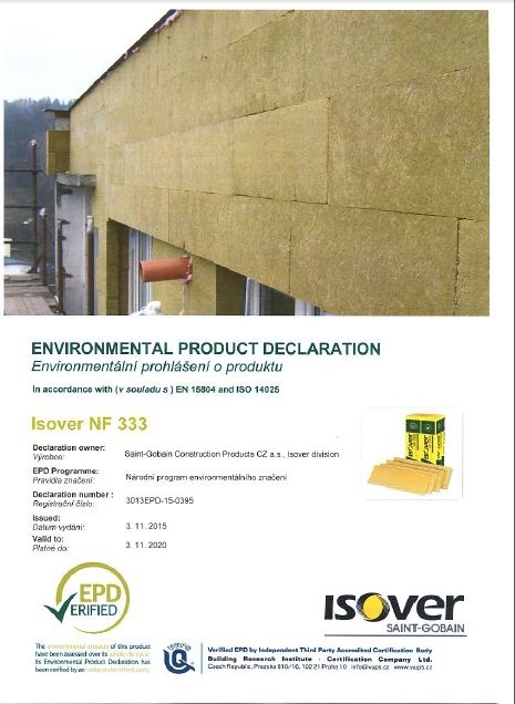 Environmental Product Declaration - EPD_cover