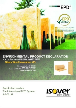 ISOVER CLIMA 034 EPD COVER