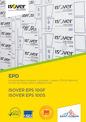 ISOVER EPS 100F EPD COVER