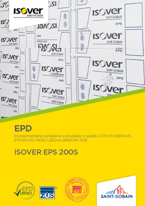 ISOVER EPS 200S EPD COVER