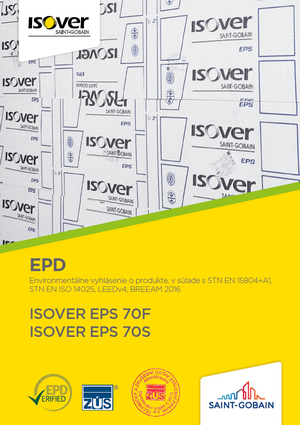 ISOVER EPS 70F 70S EPD COVER