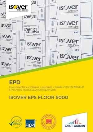 ISOVER EPS FLOOR 5000 EPD COVER