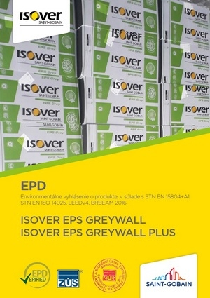ISOVER EPS GREYWALL EPD COVER