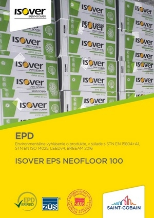 ISOVER EPS NEOFLOOR 100 EPD COVER