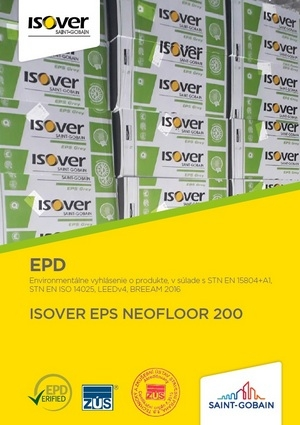 ISOVER EPS NEOFLOOR 200 EPD COVER