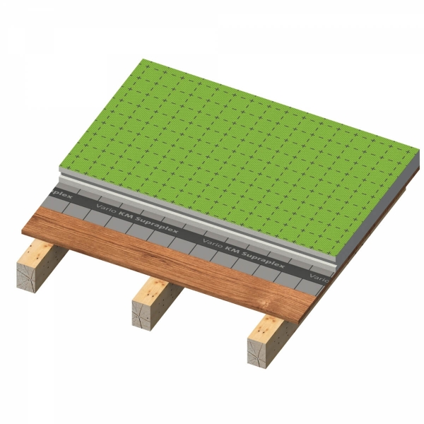 Isover system zateplenia sikmej strechy nad krokvami