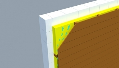 Zateplenie fasady domu - odvetrane fasady