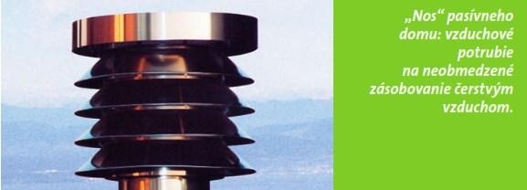 Rekuperacia vzduchu v ekologickom MKD