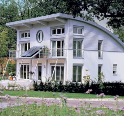 Pasivny rodinny dom Viernheim Nemecko