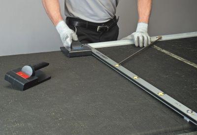 Climaver montazny postup - stupnova drazka