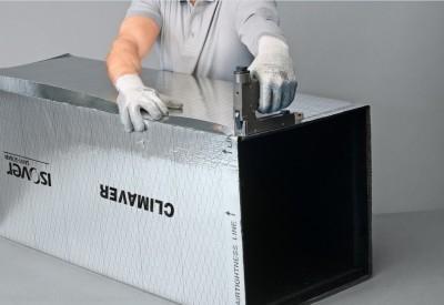 Climaver montazny postup - zaistenie spoja