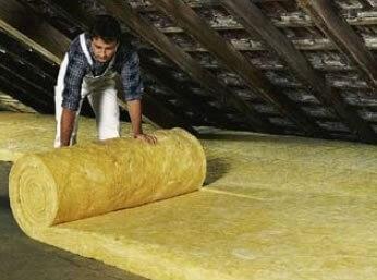 zateplenie stropu podkrovia isover domo