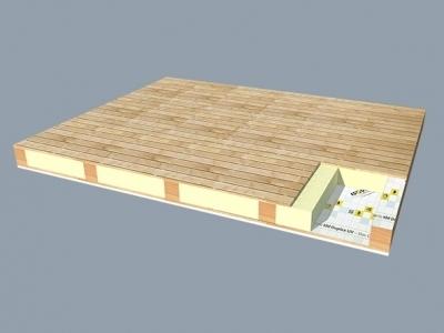 Izolacia tramoveho stropu